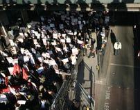 protesta Anti-israeliana a Londra Fotografia Stock Libera da Diritti
