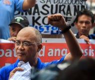 Protesta antigovernativa Fotografie Stock