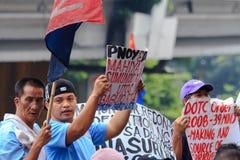 Protesta antigovernativa Fotografie Stock Libere da Diritti