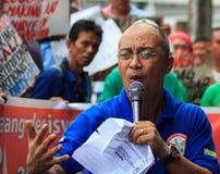 Protesta antigovernativa Immagine Stock Libera da Diritti
