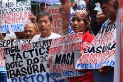 Protesta antigovernativa Immagini Stock