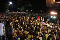 Protesta Bangkok - Camera del RILIEVO di governo Immagini Stock Libere da Diritti