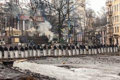 Protesta contra Fotografía de archivo libre de regalías