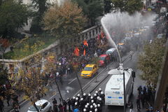 Protesta contro l'arresto dei parlamentari curdi Immagini Stock Libere da Diritti