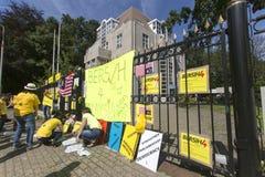 Protesta de Bersih Imagen de archivo