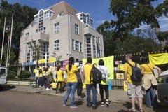 Protesta de Bersih Imágenes de archivo libres de regalías