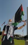 Protesta de Gaza Imagen de archivo libre de regalías