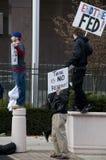 Protesta de la reserva federal de Philly Foto de archivo
