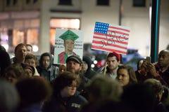 Protesta de Michael Brown Imagen de archivo
