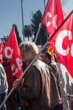 Protesta degli studenti Fotografia Stock
