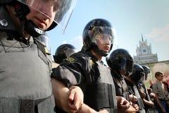 protesta del Anti-kremlin a Mosca Fotografia Stock Libera da Diritti