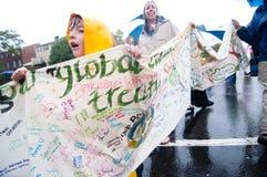 Protesta del cambiamento di clima Immagini Stock