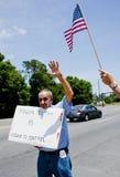 Protesta del IRS Fotos de archivo libres de regalías