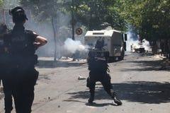 Protesta del parco di Taksim Fotografia Stock Libera da Diritti