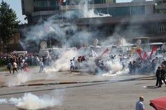 Protesta del parco di Taksim Fotografie Stock Libere da Diritti