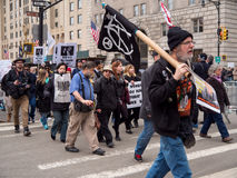 Protesta del triunfo Imagenes de archivo