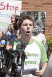 Protesta del UCLA Foto de archivo