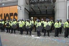 Protesta di ANTI-CUTS A LONDRA Fotografia Stock