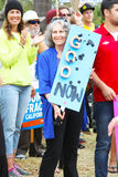 Protesta di caduta di olio Immagine Stock Libera da Diritti