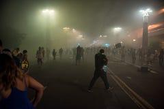 Protesta di raduno di Phoenix Trump Fotografia Stock Libera da Diritti