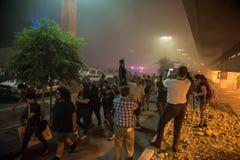 Protesta di raduno di Phoenix Trump Fotografie Stock Libere da Diritti