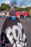 Protesta massiccia a Brasilia, Brasilia Immagini Stock