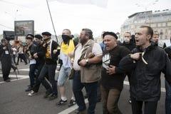 Protesta a Mosca il 15 settembre 2012 Fotografie Stock
