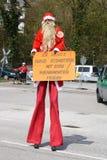 Protesta nuclear anti Alemania 2010 Fotografía de archivo