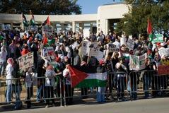 Protesta pacifica di guerra Fotografia Stock Libera da Diritti