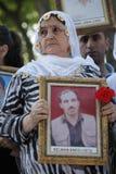 Protesta para la masacre de Uludere Fotos de archivo libres de regalías