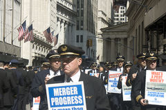Protesta pilota Fotografia Stock