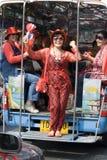 Protesta rossa della camicia - Bangkok fotografie stock libere da diritti