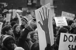 Protesta unida Imágenes de archivo libres de regalías