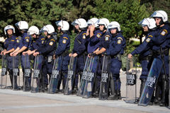 protestacyjna Athens młodość Obrazy Stock