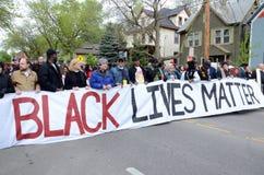 Protestacyjna Wymagająca sprawiedliwość dla Tony Robinson Zdjęcie Stock