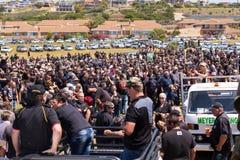Protestacyjni agains zabija rolników w Południowa Afryka Zdjęcia Stock