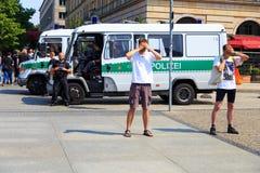 protestacyjny cichy Zdjęcia Stock