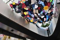 Protestacyjny parasol Zdjęcie Royalty Free