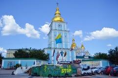 Protestacyjny pobliski kościół Obrazy Stock