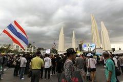 Protestacyjny rząd w Thailand Fotografia Stock