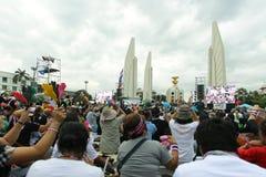 Protestacyjny rząd w Thailand Obrazy Stock
