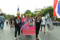 Protestacyjny rząd w Thailand Zdjęcia Royalty Free