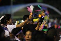 Protestacyjny rząd w Thailand Obraz Royalty Free