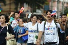 Protestacyjny rząd w Thailand Zdjęcia Stock