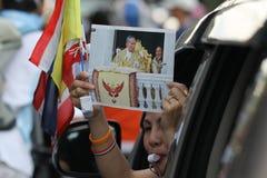 Protestacyjny rząd w Thailand Obraz Stock