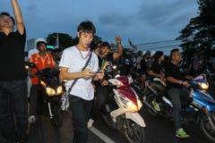 Protestacyjny rząd w Thailand Zdjęcie Royalty Free