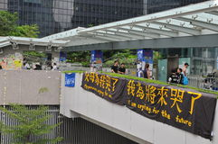 Protestacyjny sztandar Zdjęcia Stock