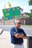 Protestador 2 Imagens de Stock Royalty Free