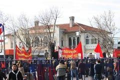 Protestadores socialistas Foto de Stock Royalty Free