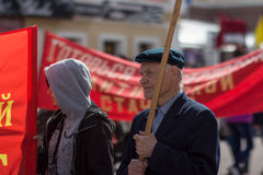 Protestaktivitet i Ryssland Royaltyfri Fotografi
